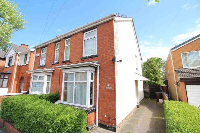 3 Bedrooms Semi Detached House for sale in Victoria Road, Wednesfield, Wolverhampton, WV11