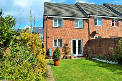 3 Bedrooms End Of Terrace House for sale in Murray Street, Mansfield, Nottinghamshire