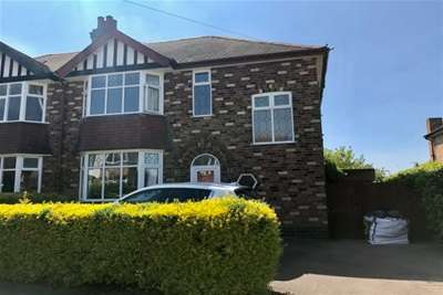 3 Bedrooms Semi Detached House for rent in Villiers Road, West Bridgford