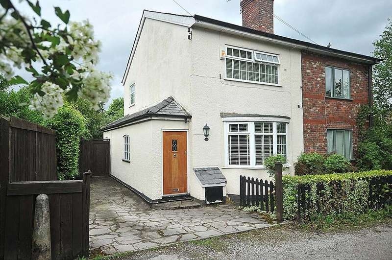 2 Bedrooms Semi Detached House for sale in Mount Pleasant, Wilmslow