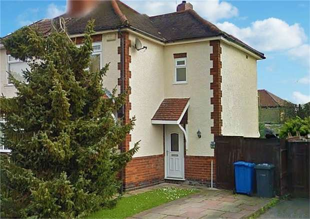 3 Bedrooms Semi Detached House for sale in Chadwick Avenue, Allenton, Derby