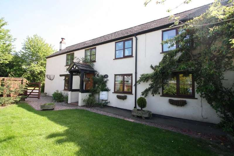 4 Bedrooms Semi Detached House for sale in Grange Cottage, Clotton, CW6 0EG