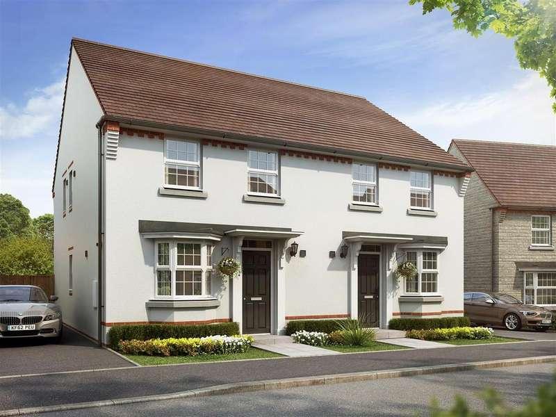 3 Bedrooms Semi Detached House for sale in Plot 30, Oakfield, Saxon Fields, Cullompton