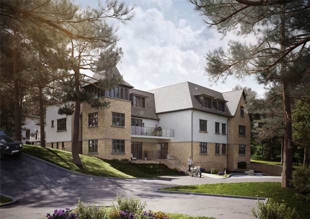 3 Bedrooms Flat for sale in Crosstrees, Lilliput, Poole, Dorset
