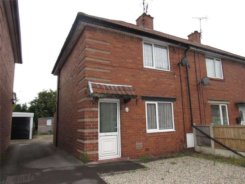 2 Bedrooms Semi Detached House for sale in Gordon Avenue, Mansfield, Nottinghamshire, NG18