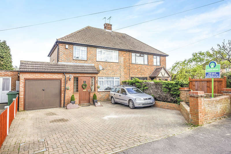 3 Bedrooms Semi Detached House for sale in Heathside Avenue, Coxheath, Maidstone, ME17