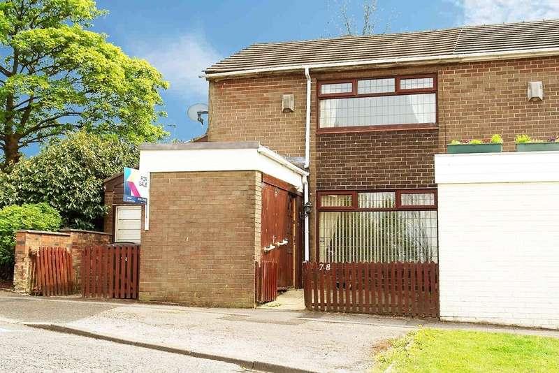 2 Bedrooms End Of Terrace House for sale in 78 Swift Road, Moorside