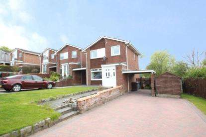 3 Bedrooms Detached House for sale in Peathill Avenue, Chryston, Glasgow, North Lanarkshire