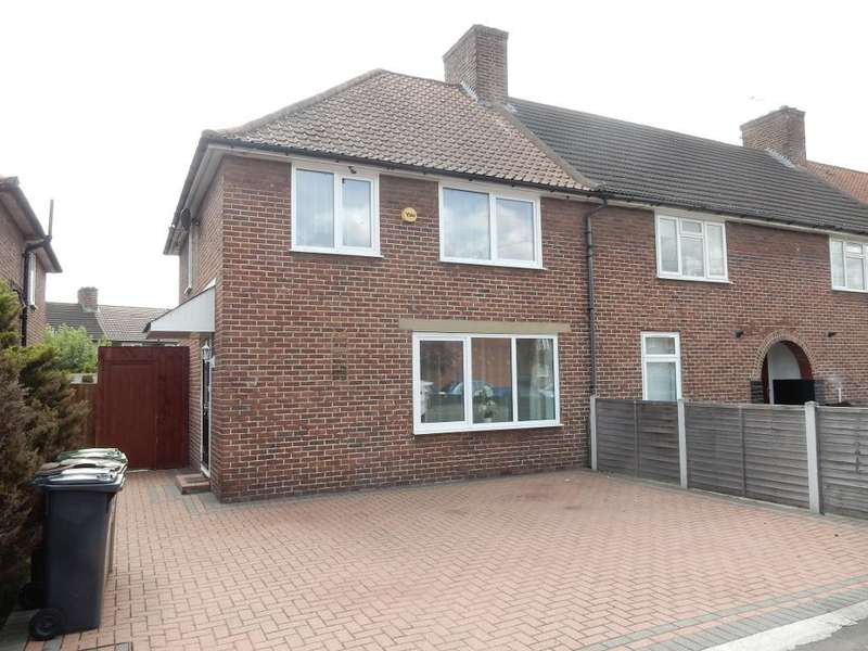 3 Bedrooms End Of Terrace House for sale in Halbutt Street, Dagenham, Essex, RM9 5AS