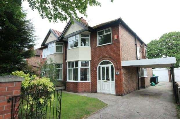 4 Bedrooms Semi Detached House for sale in Walton Road, Sale