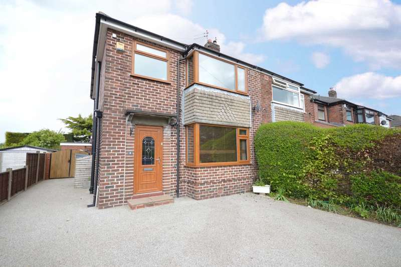 3 Bedrooms Semi Detached House for sale in Alderley Close, Hazel Grove