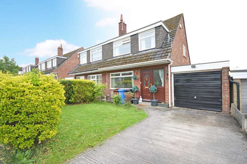 3 Bedrooms Semi Detached House for sale in Churchill Crescent, Marple