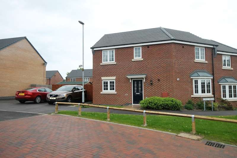 3 Bedrooms Semi Detached House for sale in Kinross Way , Hinckley