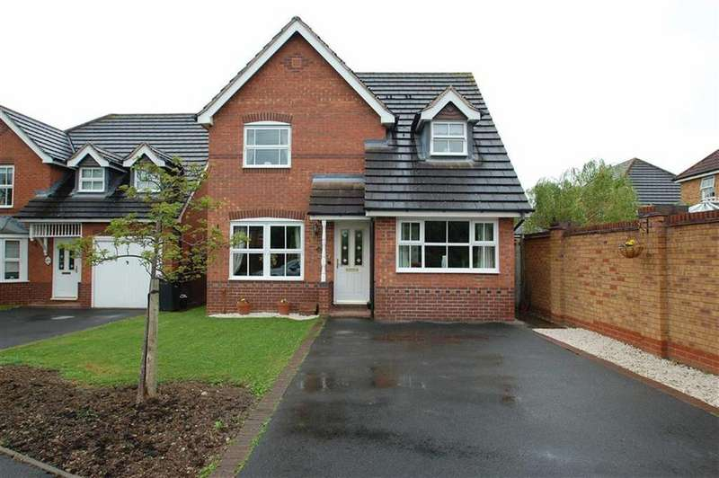 3 Bedrooms Detached House for sale in Hallam Drive, Berwick Grange, Shrewsbury