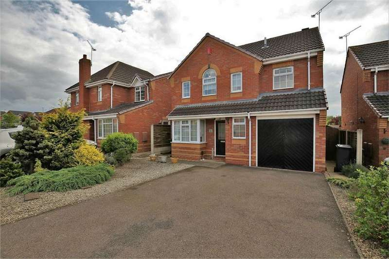 4 Bedrooms Detached House for sale in Mark Antony Drive, Warwick Gates, Warwick