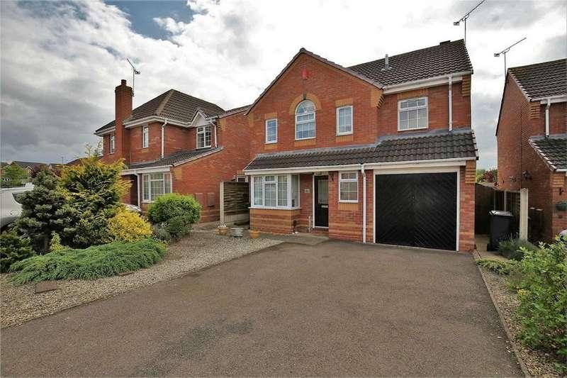 4 Bedrooms Detached House for sale in Mark Antony Drive, Warwick Gates, Warwick