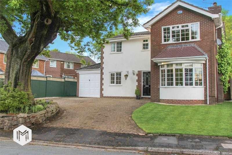 4 Bedrooms Detached House for sale in Oak Gates, Egerton, Bolton, Lancashire