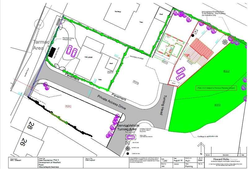 Land Commercial for sale in Westfield Road, Waunarlwydd, Swansea, City & County of Swansea. SA5 4SJ