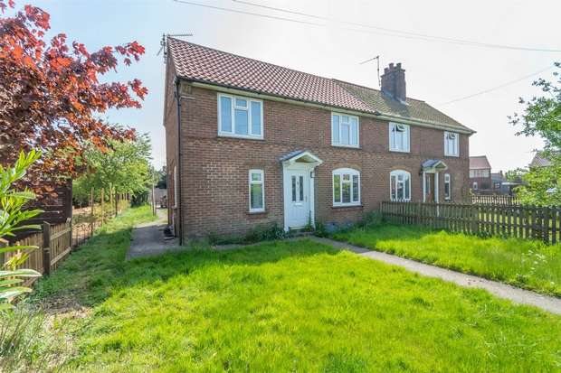 3 Bedrooms Semi Detached House for sale in 39 Jubilee Avenue, Fakenham
