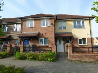 3 Bedrooms Terraced House for sale in Oakworth Avenue, Broughton, Milton Keynes