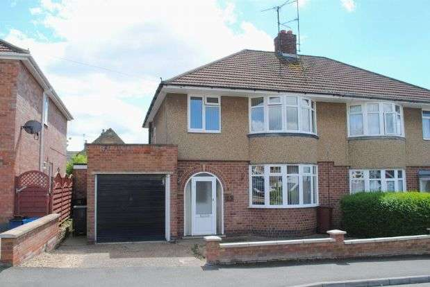 3 Bedrooms Semi Detached House for sale in Thornby Drive, Kingsthorpe Village, Northampton NN2 8HA