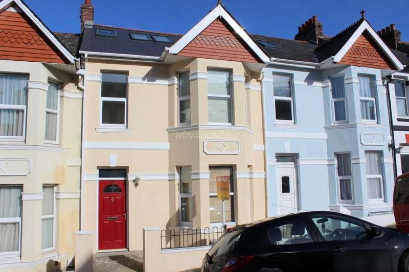 4 Bedrooms Terraced House for sale in Salcombe Road, Lipson, PL4 7NF