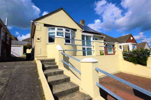 3 Bedrooms Semi Detached Bungalow for sale in Treverbyn Road, Plymouth, Devon