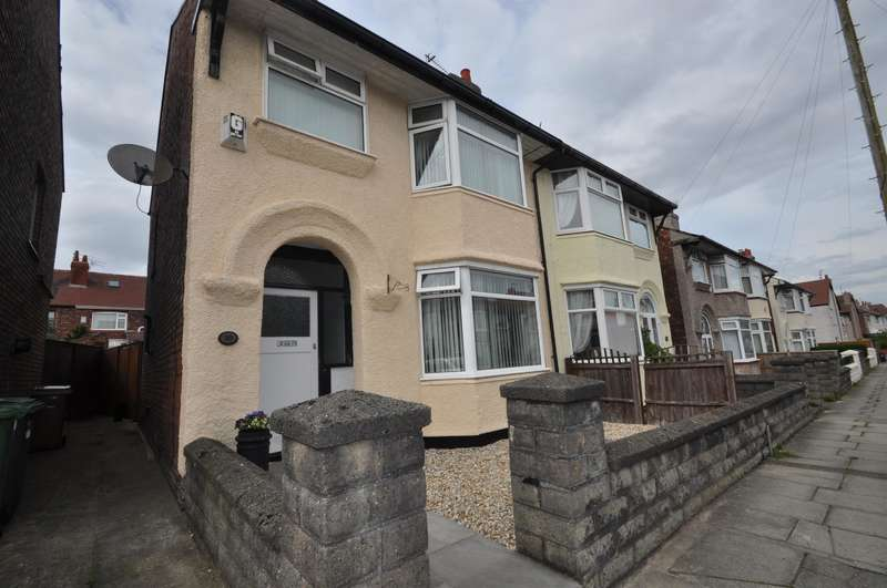 3 Bedrooms Semi Detached House for sale in Willoughby Road, Wallasey, CH44 3DY