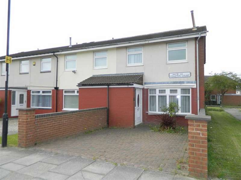 3 Bedrooms End Of Terrace House for sale in Coniston Court, Howdon, Wallsend, NE28