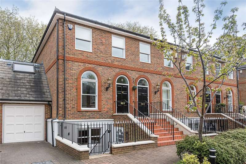 5 Bedrooms House for sale in King George Square, Richmond, TW10
