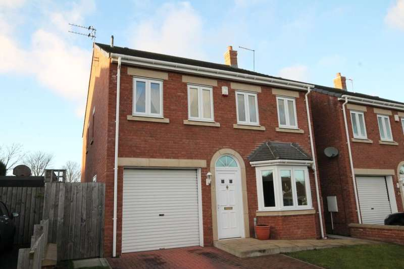 4 Bedrooms Detached House for sale in Hartburn Close, Chapel Park, Newcastle Upon Tyne, NE5