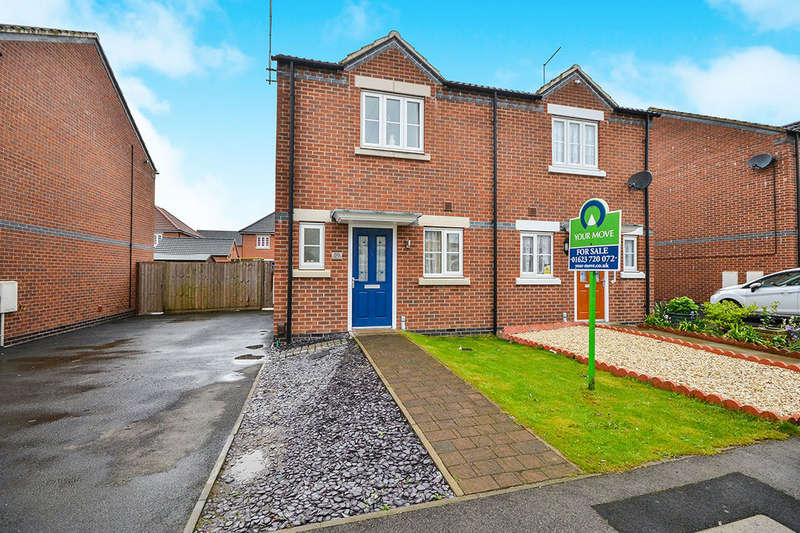 2 Bedrooms Semi Detached House for sale in Phoenix Street, Sutton-In-Ashfield, NG17