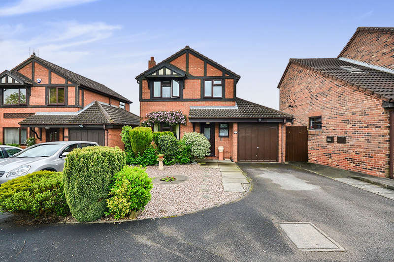 3 Bedrooms Detached House for sale in Sporton Close, South Normanton, Alfreton, DE55