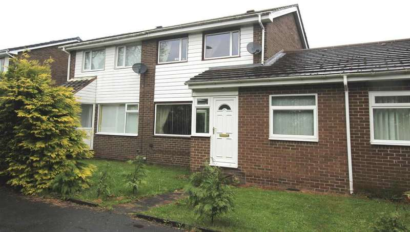 3 Bedrooms Semi Detached House for sale in Linslade Walk, Beaconhill Glade, Cramlington