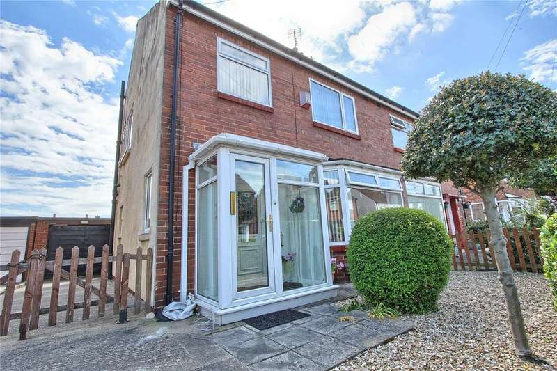 3 Bedrooms Semi Detached House for sale in Queens Drive, Wolviston Court