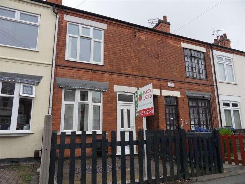2 Bedrooms Terraced House for sale in Clarendon Road, Hinckley
