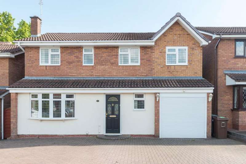 4 Bedrooms Detached House for sale in Oakslade Drive, Solihull, West Midlands