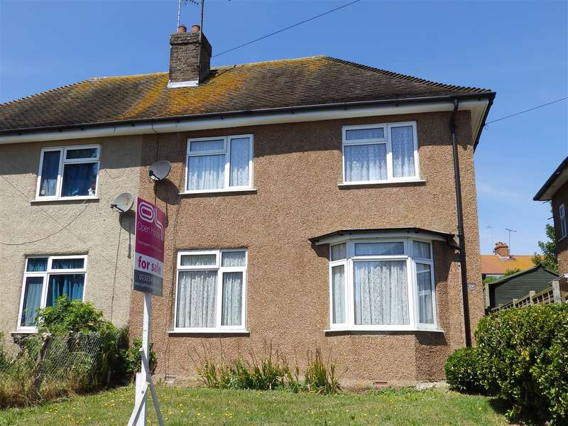 3 Bedrooms Semi Detached House for sale in Command Road, Eastbourne