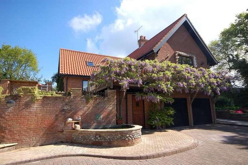 4 Bedrooms Detached House for sale in Sheringham Road, West Beckham