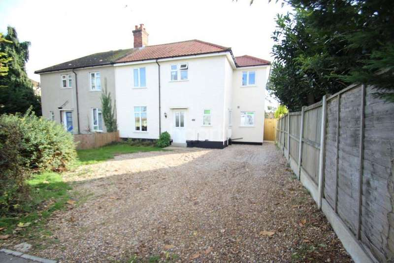 4 Bedrooms Semi Detached House for sale in Shrub End Road, Colchester, CO3