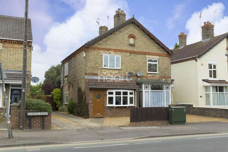 3 Bedrooms Semi Detached House for sale in Oundle Road, Peterborough