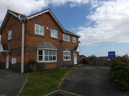 3 Bedrooms Semi Detached House for sale in Rhodfa Wenlo, Greenfield, Holywell, Flintshire, CH8