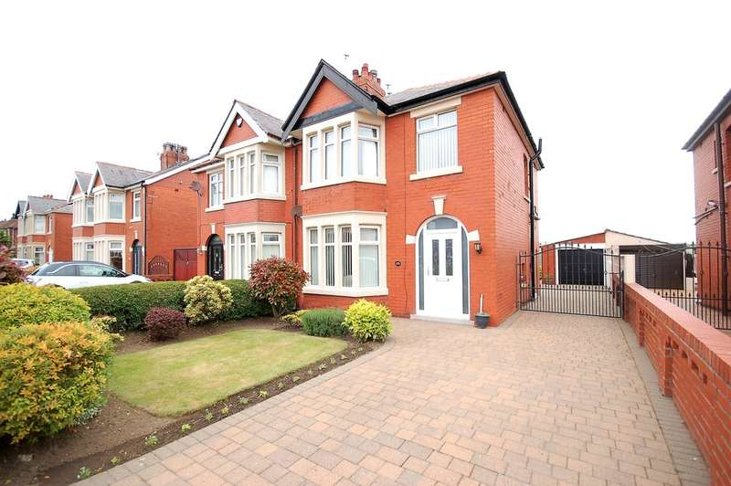 3 Bedrooms Semi Detached House for sale in St Lukes Road, Blackpool