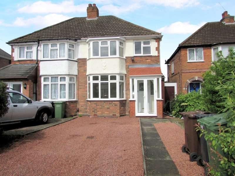 3 Bedrooms Semi Detached House for sale in Wellsford Avenue, Solihull