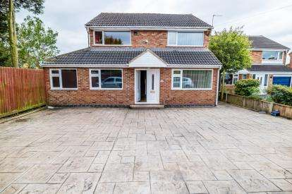 4 Bedrooms Detached House for sale in Tilton Drive, Oadby, Leicester, Leicestershire