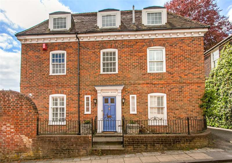 4 Bedrooms Semi Detached House for sale in St. Swithun Street, Winchester, Hampshire, SO23