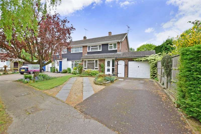 4 Bedrooms Semi Detached House for sale in Millfield, Southwater, Nr Horsham, West Sussex