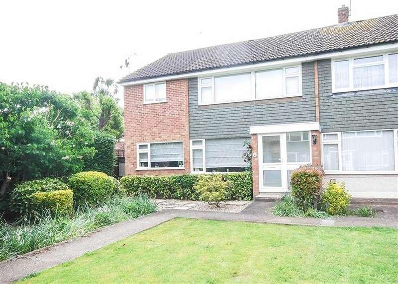 3 Bedrooms End Of Terrace House for sale in Nursery Road, Hoddesdon, Hertfordshire, EN11