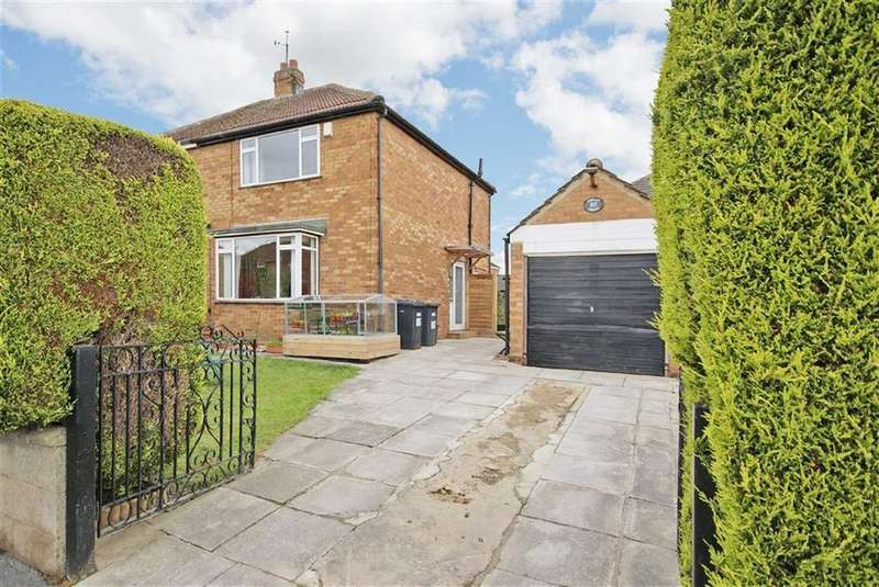 3 Bedrooms Semi Detached House for sale in Poplar Grove, Harrogate, North Yorkshire