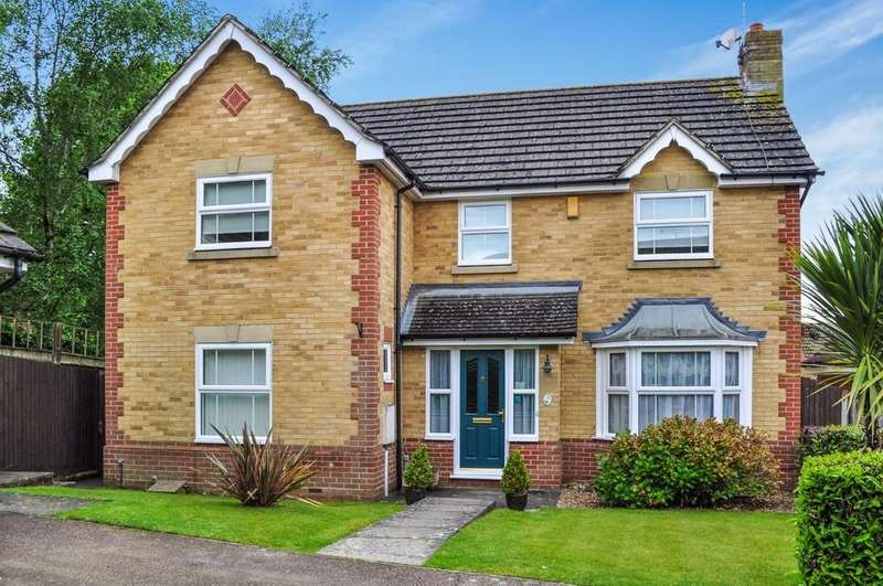 4 Bedrooms Detached House for sale in Mercer Close, Maidenbower